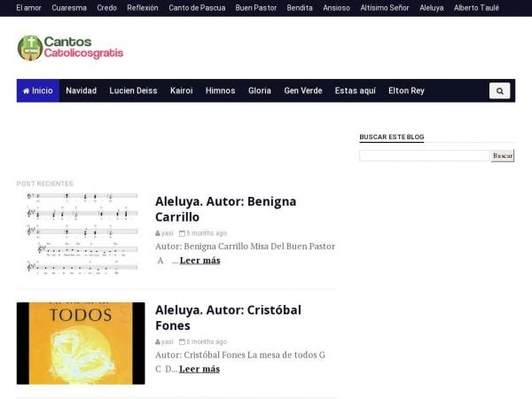 cantoscatolicosgratis.blogspot.com