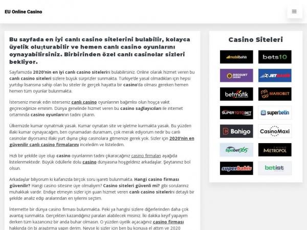 euonlinecasino.com
