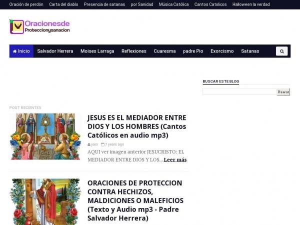 oracionesdeproteccionysanacion.blogspot.com