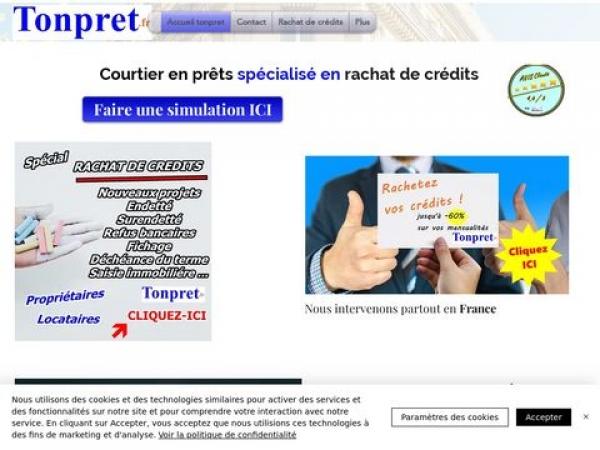 tonpret.fr