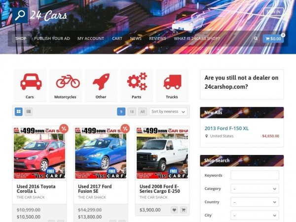 24carshop.com